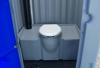Intérieur WC chimique