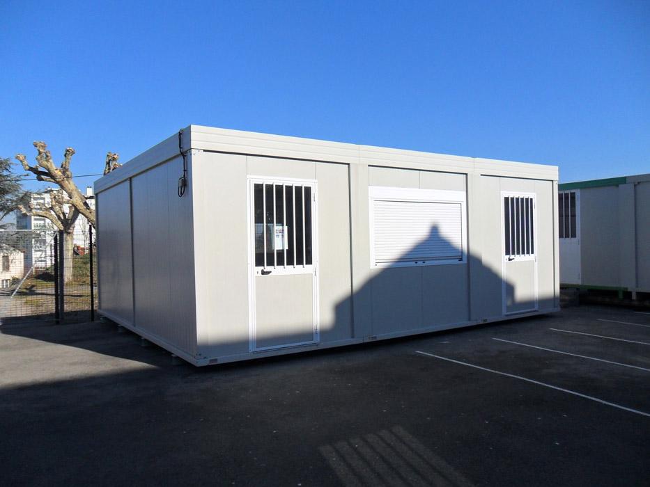 Location et vente de bungalows haute loire lyon loire 42 - Bungalow bureau de vente ...